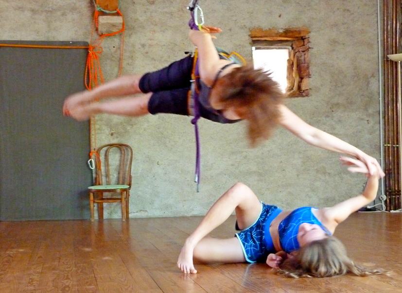 Danse Voltige et écriture chorégraphique instantanée 17-23 juillet